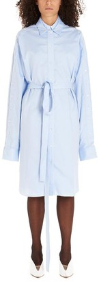 Y/Project Y / Project Layered Tie Waist Shirt Dress