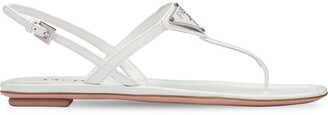 Prada Thong Strap Sandals