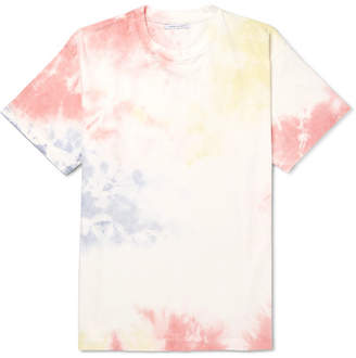 John Elliott University Oversized Tie-Dyed Cotton-Jersey T-Shirt