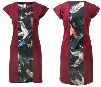 Format Plum Dress - black / XS