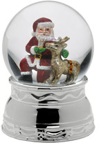 Mikasa Santa And Reindeer Musical Snow Globe