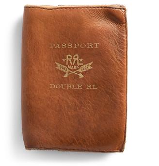 Ralph Lauren Leather Passport Wallet