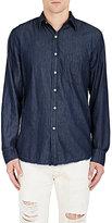 NSF Men's Axel Shirt-Blue Size M