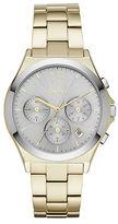 DKNY Parsons Goldtone Stainless Steel Bracelet Chronograph, NY2452