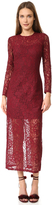 Cynthia Rowley Long Sleeve Lace Dress