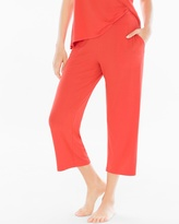Soma Intimates Crop Pajama Pants Guava