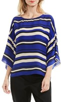 Vince Camuto Women's Bell Sleeve Stripe Blouse