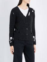 Diesel Destroyed distressed cardigan