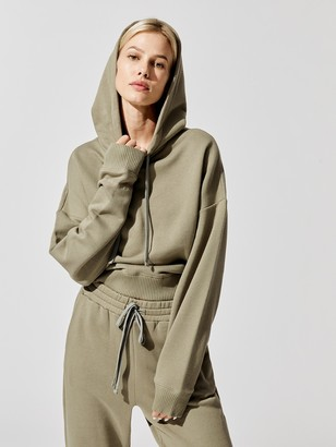 Carbon38 French Terry Hooded Sweatshirt