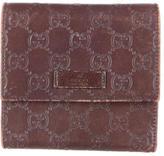Gucci Guccissima Compact Wallet
