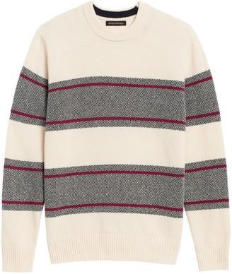 Banana Republic Birdseye Stripe Sweater