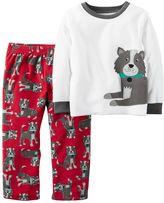 Carter's Baby Boy Fleece Top & Pants Pajama Set