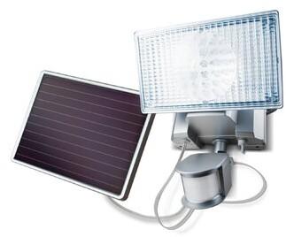 Ebern Designs Geren LED 150-Light Outdoor Armed Sconce with Motion Sensor
