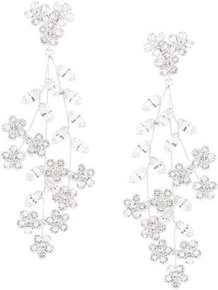 Jennifer Behr Violetta chandelier earrings
