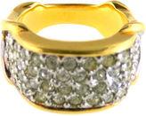 One Kings Lane Vintage Pavé Rhinestone Ring