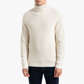 La Redoute Collections Ribbed Turtleneck Jumper