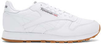 Reebok Classics White Classic Glide Sneakers