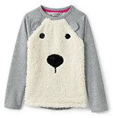 Classic Girls Plus Embellished Cozy Sweatshirt-Sparkling Snowflake