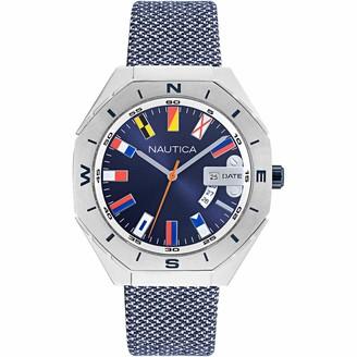 Nautica Women's Quartz Stainless Steel Strap Blue 18 Casual Watch (Model: NAPPBS024)