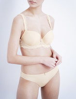 Panache Ardour jersey and stretch-lace sweetheart moulded bra