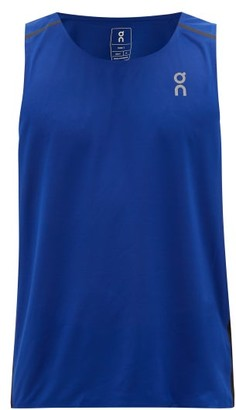 On Tank-t Technical-jersey Running Top - Mens - Blue