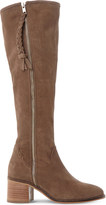 Steve Madden Lasso suede knee high boots