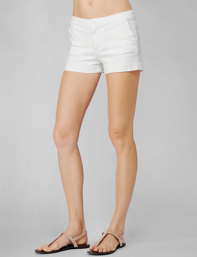 Paige Sutton Short - Optic White