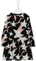 MSGM star print dress - kids - Polyester - 6 yrs