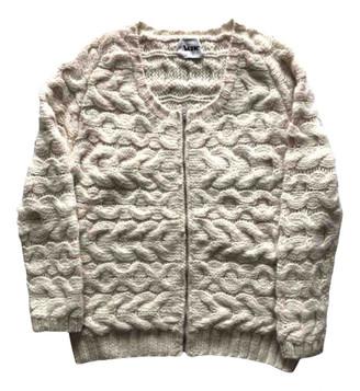 Acne Studios Ecru Wool Knitwear