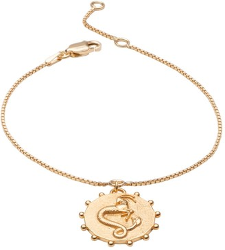 Rachel Jackson London Zodiac Art Coin Capricorn Bracelet Gold