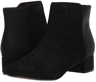 Clarks Chartli Valley (Black Combo Suede) Women's Boots