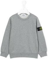 Stone Island Junior - crew neck sweatshirt - kids - Cotton - 4 yrs