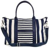 Merona Merona; Women's Multistriped Canvas Tote with Removable Crossbody Strap - Merona;