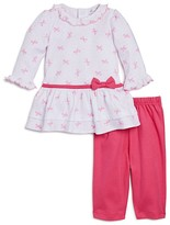 Kissy Kissy Girls' Bow Dress & Leggings Set - Baby