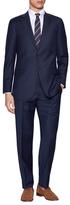 Hart Schaffner Marx Wool Pinstripe Suit