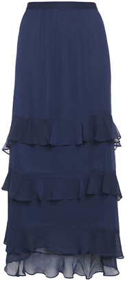 Charli Tiered Georgette Maxi Skirt