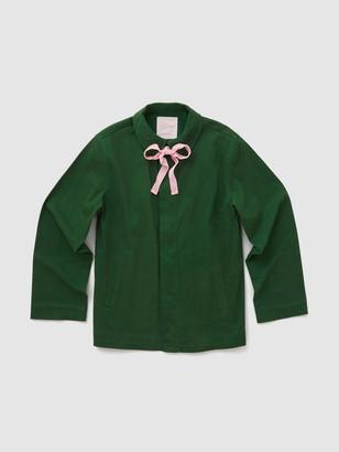 ban.do Velvet Bow Work Jacket