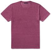 Etro Mélange Linen T-shirt