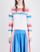 Peter Pilotto Arrow-detailed knitted jumper