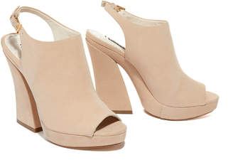 Alice + Olivia Saund Suede Wedge