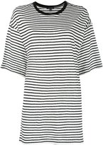 R 13 striped T-shirt - women - Cotton - XS