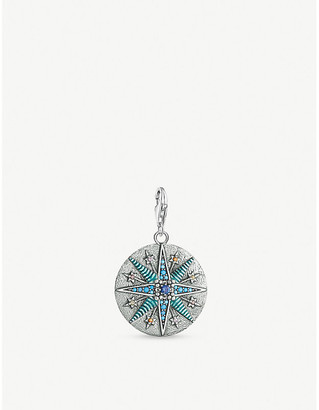 Thomas Sabo Charm Club sterling silver and rhinestone Vintage Star pendant