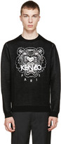 Kenzo Black Knit Tiger Sweater