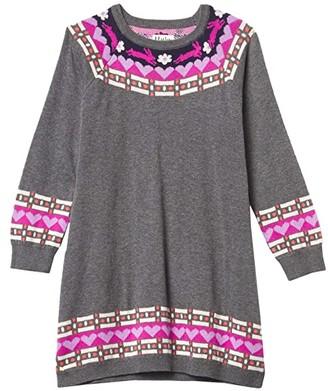 Hatley Charcoal Melange Sweaterdress (Toddler/Little Kids/Big Kids) (Grey) Girl's Clothing