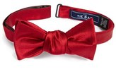 The Tie Bar Men's Solid Silk Bow Tie