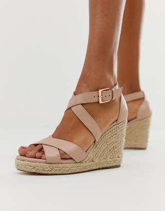 Carvela heeled espadrille-Beige