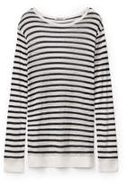 Alexander Wang STRIPED SLUB CLASSIC LONG SLEEVE TEE