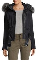 Spyder Women's Amour Belted Hood Jacket