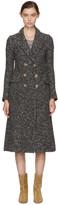 Etoile Isabel Marant Grey Long Overton Coat