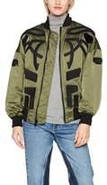 Fornarina Women's George Bomber Jacket,L